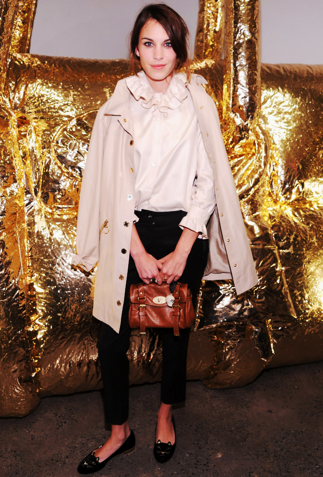 the Electric: Alexa Chung at Fashion Night Out