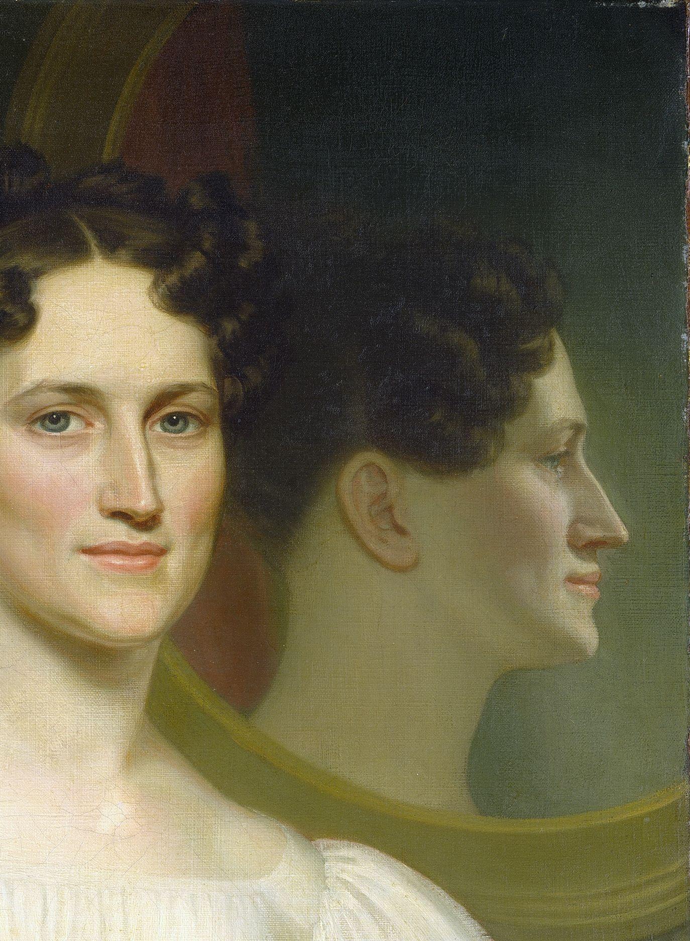 John Vanderlyn - Mary Ellis Bell (Mrs. Isaac Bell)