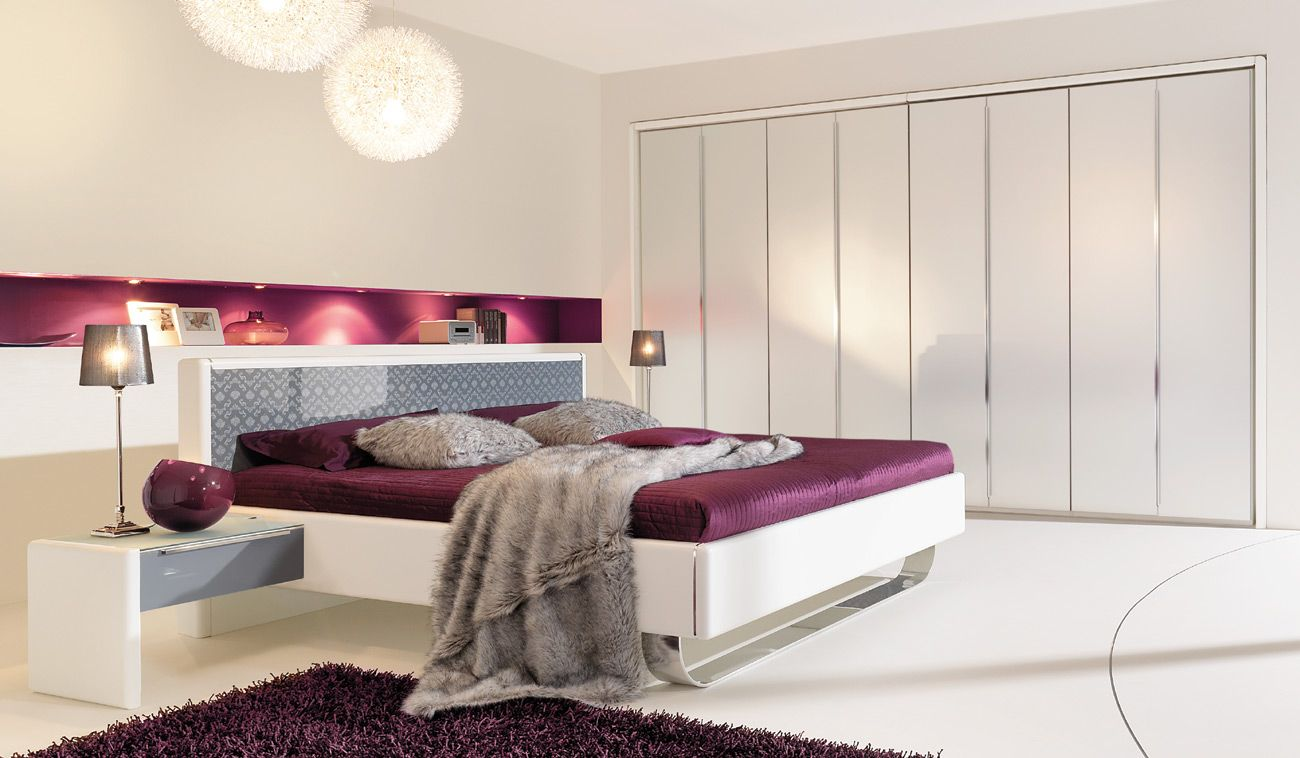 schlafzimmer wand ideen | Modern bedroom furniture, Bedrooms and Modern