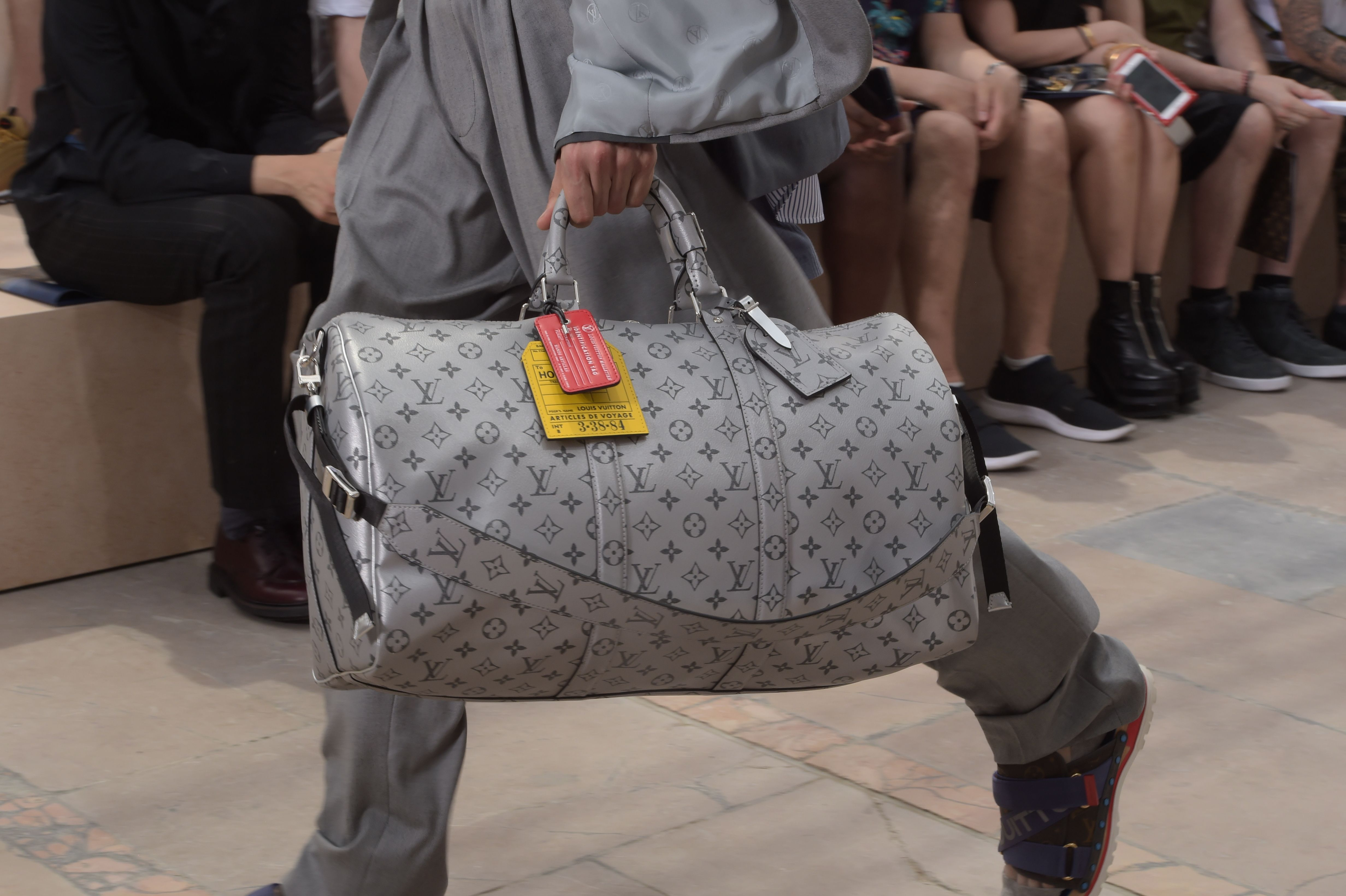b9808c347e5 Closer look at the Monogram Reflect Keepall from the Louis Vuitton ...