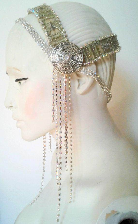 Einfach sparkly - Kopfband, Kopfschmuck für tribal Fusion ...