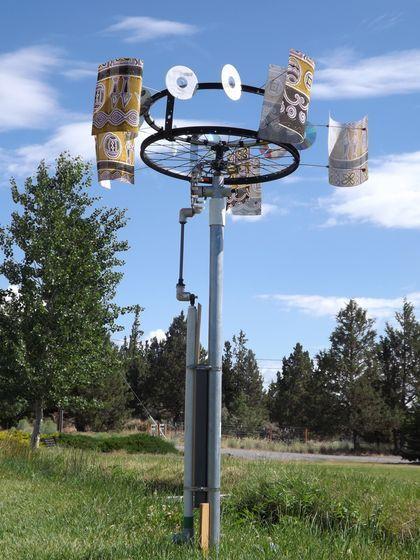 Diy Wind Powered Water Pump Survival Pump And Footprint