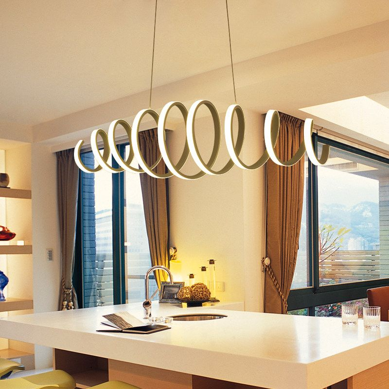 A1 simple modern stylish pendant lights restaurant smart living room bedroom study acrylic led pendant lamp