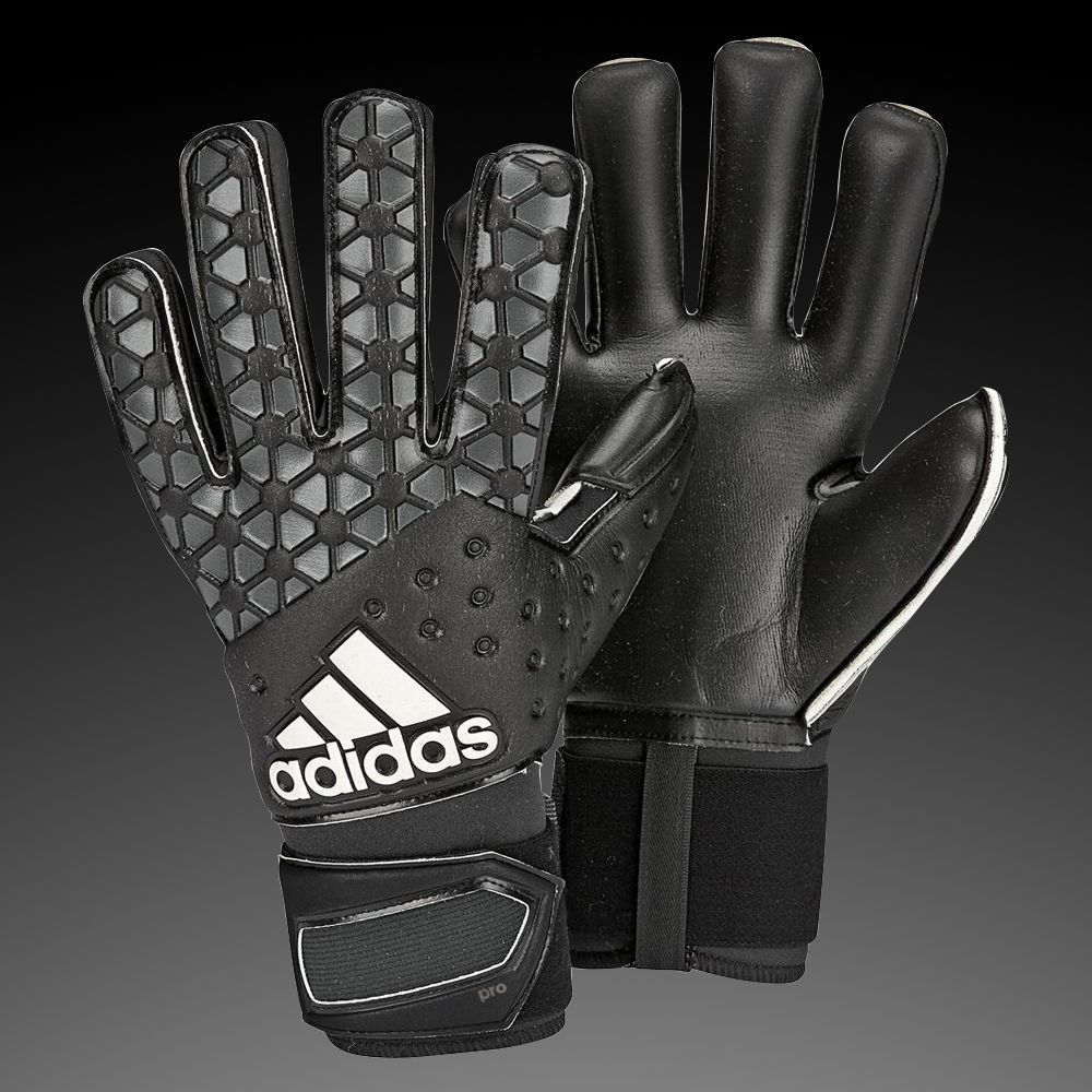 Black nike goalkeeper gloves - G1_adidas Ace Pro Classic Soccer Goalkeeper Gloves Black