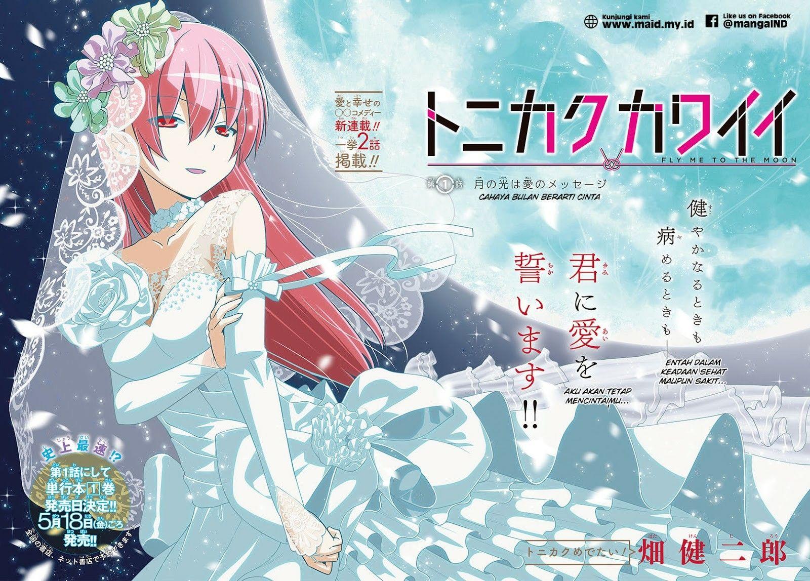 Fly Me To The Moon Anime Tsukasa Wallpaper