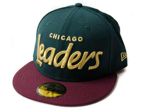 f56f3fc9f61 Chicago Leaders Christmas Ornament 59Fifty Fitted Cap By LEADERS1354 x NEW  ERA