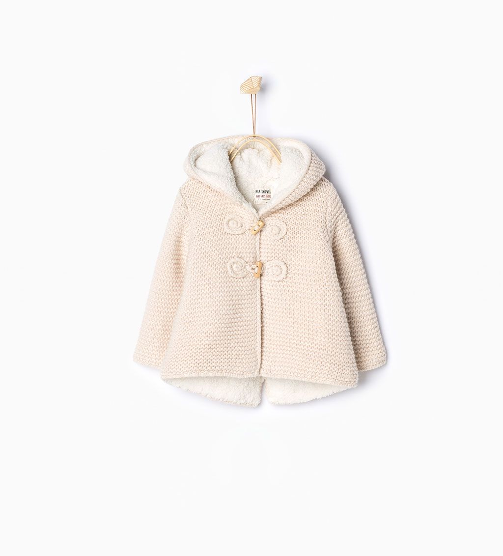 Jacket Niñas Kids Ears Knit Pinterest With Ropa Bebe Zara EqwTZZ