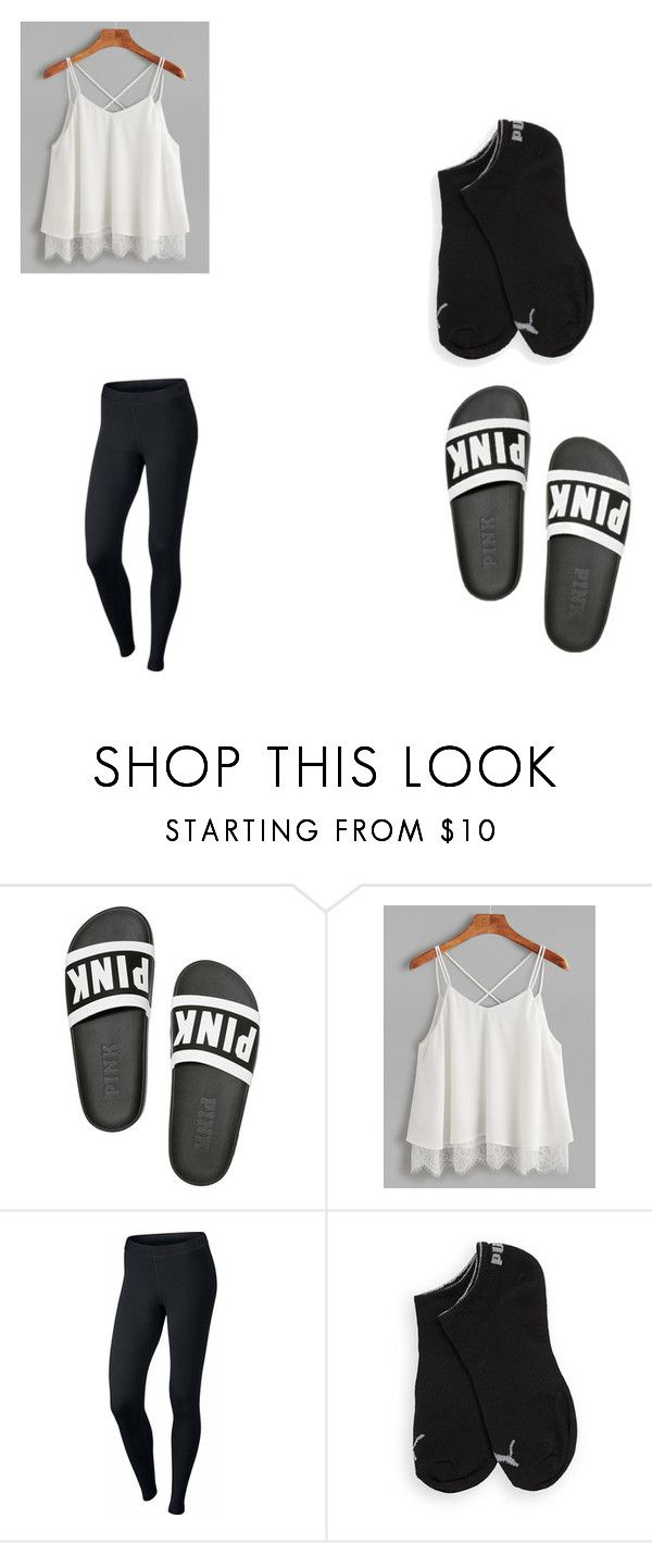 """""""free day"""" by grace-omambia on Polyvore featuring NIKE and Puma"""