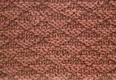 knitting stich pattern...Little Pyramids