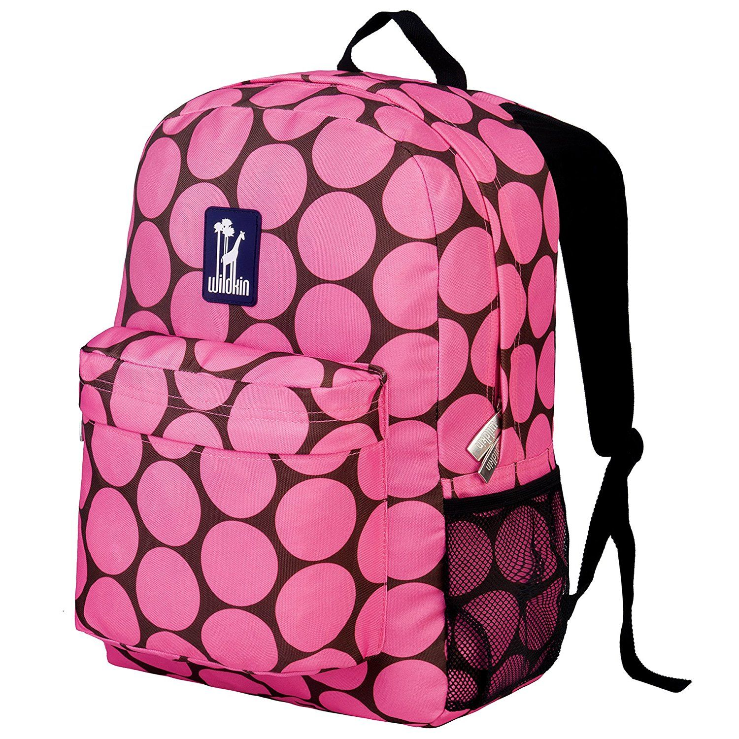 bbe7cc860736 Wildkin Big Dots Pink Crackerjack Backpack -- Startling review available  here   Travel Backpack