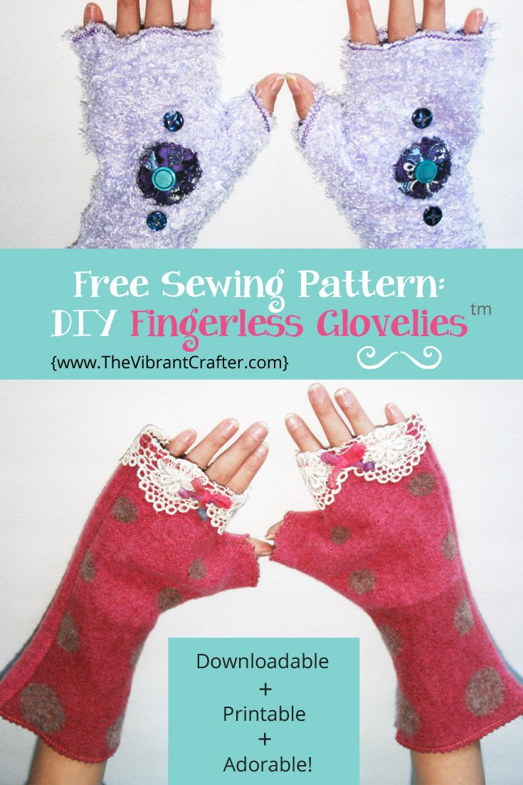 Want to learn how to make fun fingerless gloves in less than an diy fingerless gloves and arm warmers my scrappy 30 minute project jeuxipadfo Choice Image