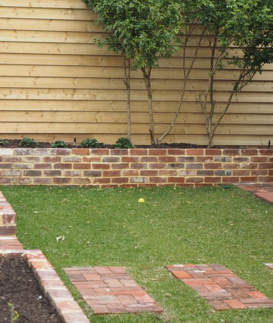 Gallery Redbird Brick Garden Garden Retaining Wall Recycled Brick