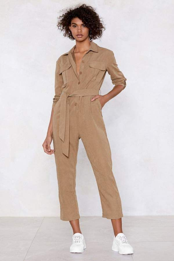23db123e48aa Nasty Gal Utility Slaying This Jumpsuit