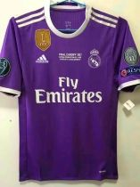 2017 Uefa Champions League Final Cardiff 12 Real Madrid Match Player Version Jersey Jersey Champions League Final Uefa Champions League