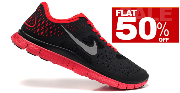 Experience the Top Branded #Nike #Footwear with Flat 50% OFF from #Amazon