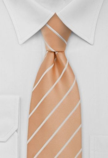 Corbata albaricoque rayas blancas #Corbata con rayas blancas albaricoque http://www.corbata.org/corbata-albaricoque-rayas-blancas-p-12961.html