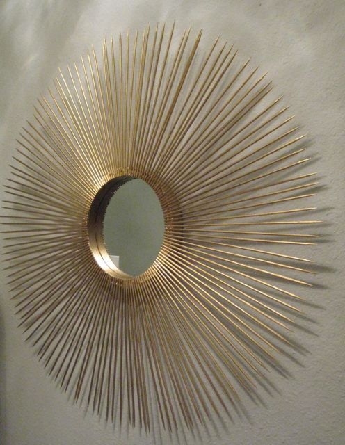 Find This Pin And More On Diy Home Projects Sunburst Mirror