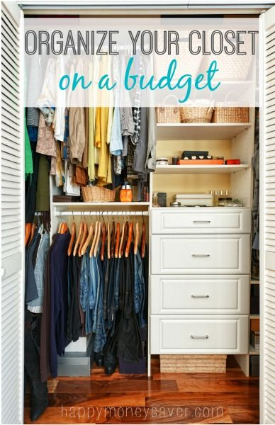 Merveilleux Happymoneysaver.com|I Love These Great Tips On How To Organize A Closet. # Organization