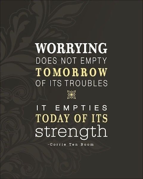 Image result for quotes on worry