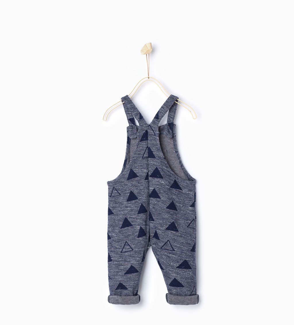 Triangle dungarees-Dresses and Jumpsuits-Baby girl-Baby | 3 months ...