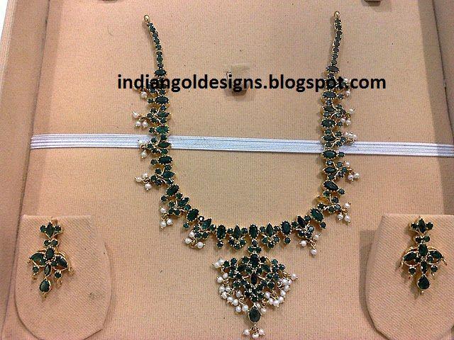 emerald necklace designs - Google Search