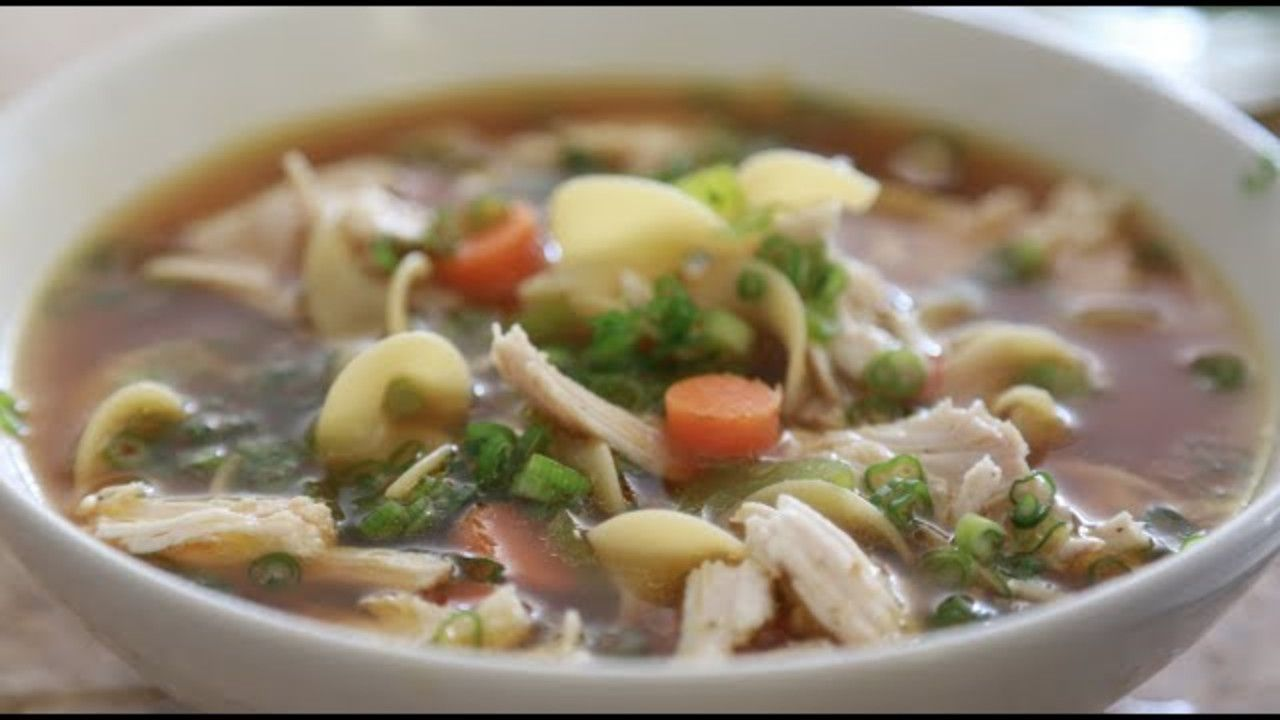 byron talbott chicken noodle soup  chicken noodle soup
