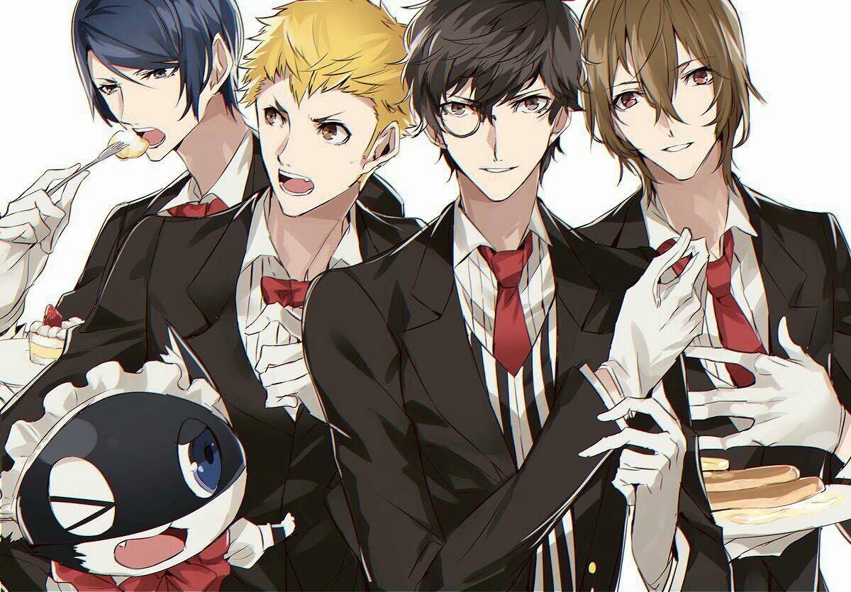 Persona 5 Boys~ (And Morgana)   Persona series :D   Persona 5