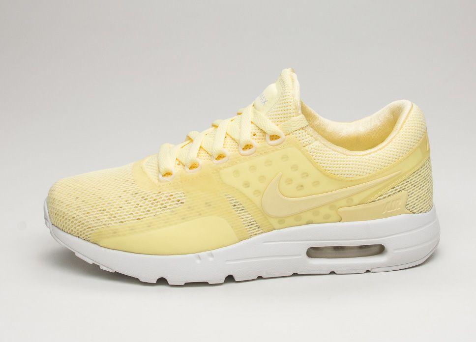 new concept c778c 13659 Nike Air Max Zero Breeze (Lemon Chiffon  Lemon Chiffon – White) lpu  sneaker sneakers