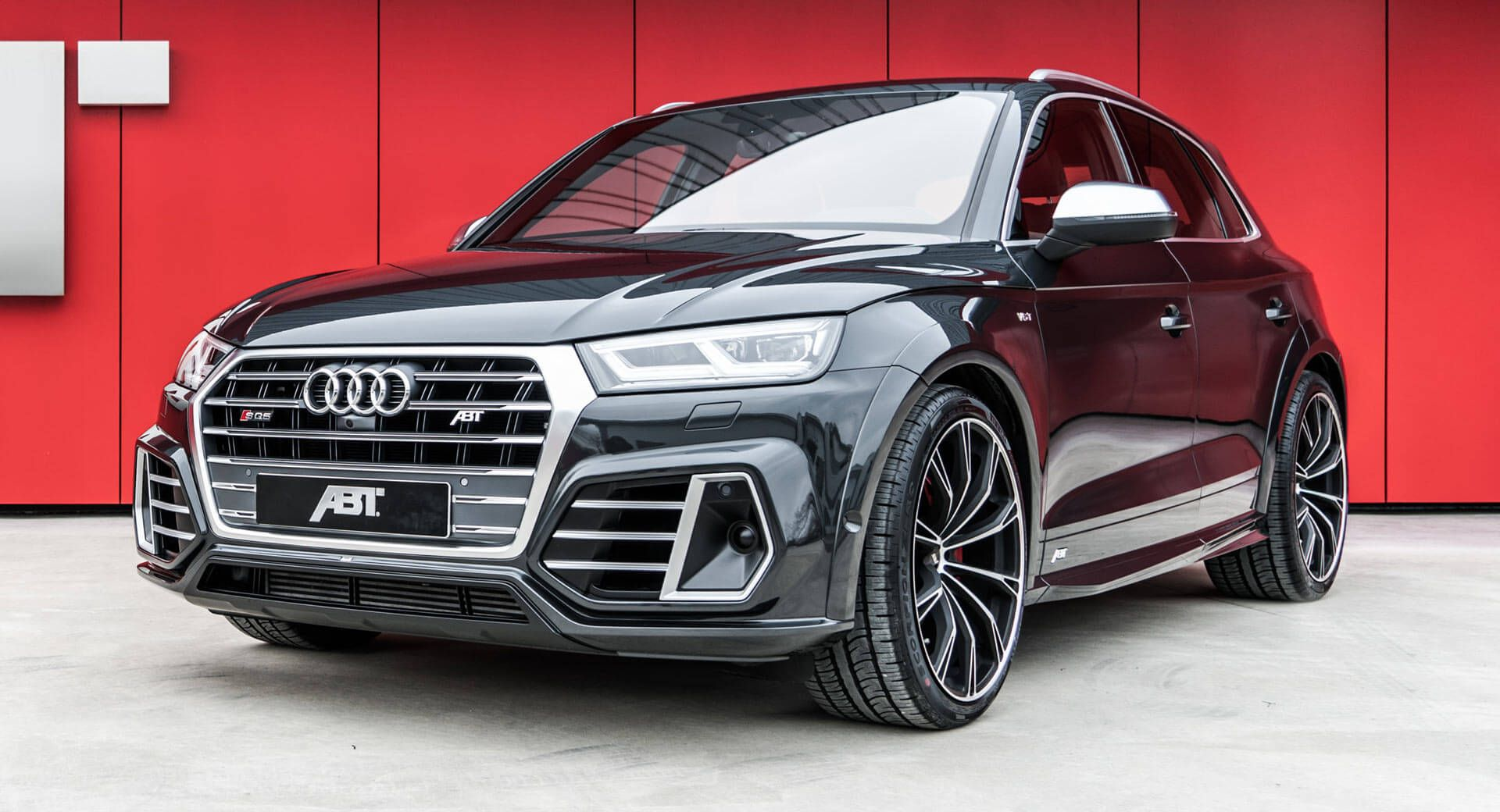 Audi Sq5 Dolled Up By Abt With Wide Body Kit And More Power Carscoops Audi Sq5 Audi Sports Car
