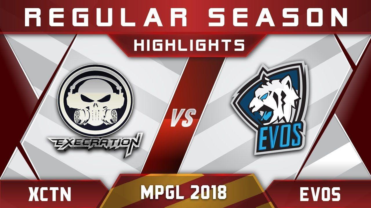 Execration vs EVOS MPGL Asian Championship 2018 Highlights