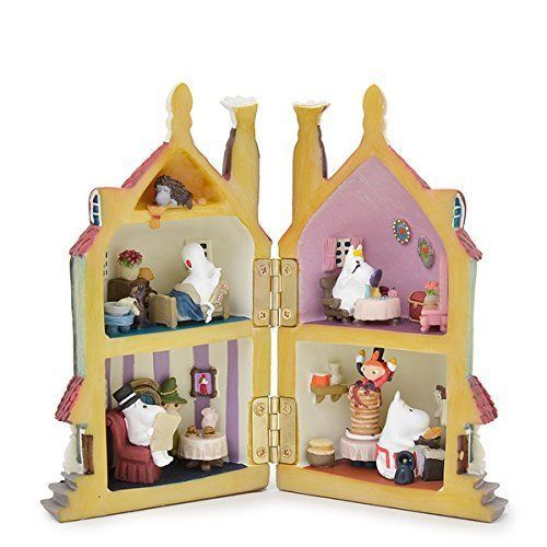 Medicom Toy UDF Moomin House Figurine Figure Little My Snufkin Japan Tracking FS