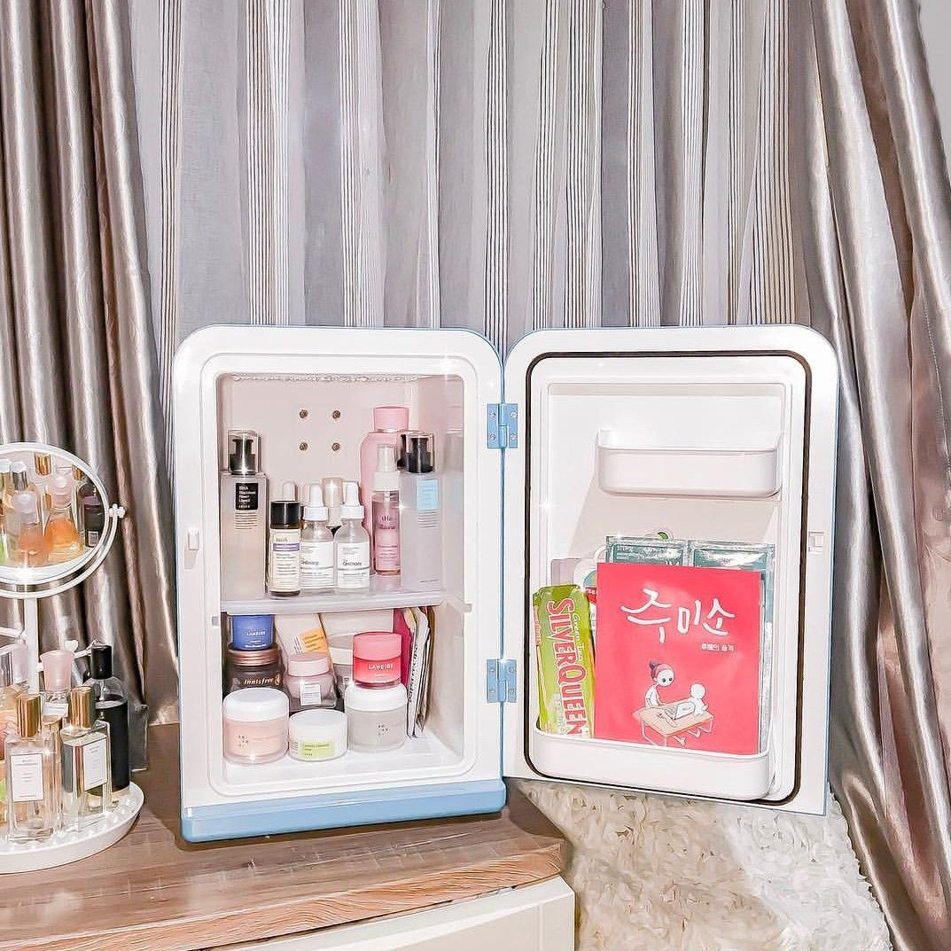 Korean Skin Care Fridge Inspiration (nudieglow Instagram