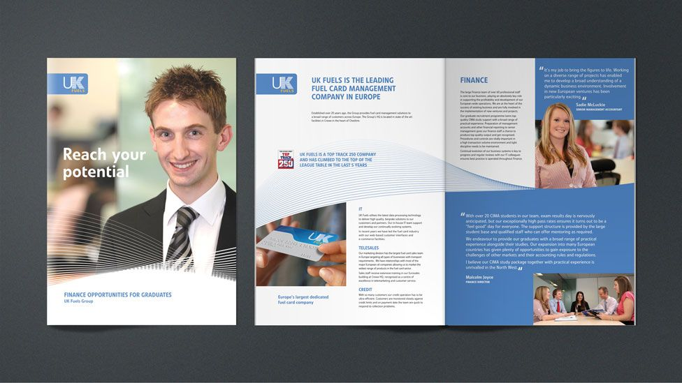 Official Website Consulting business, Company brochure