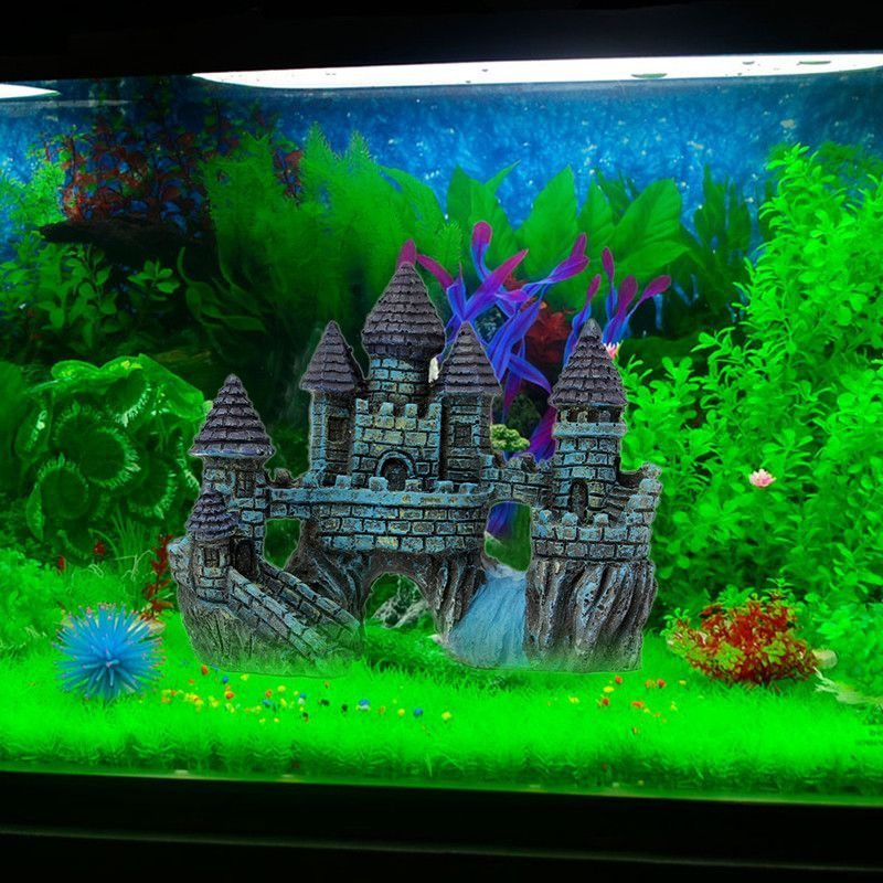 Fish Tank Aquarium Decoration Accessories Fish Tank