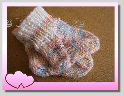 Puppensocken stricken | Stricken | Puppen, Socken und Stricken