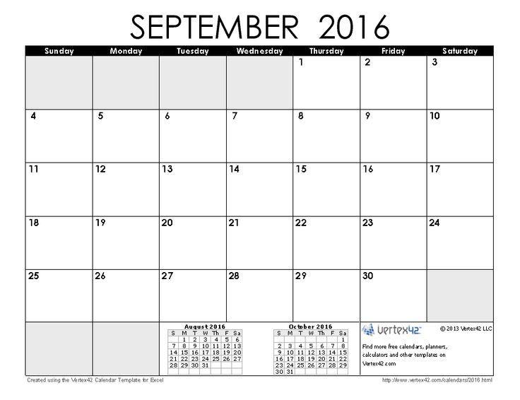 September 2016 Calendar Australia September 2016 Calendar