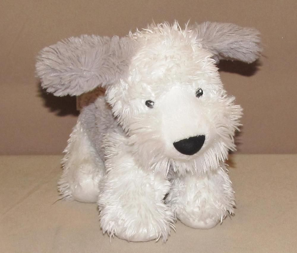 "Bearington Baby/'s First Teddy Bear Small Creamy White Plush Stuffed Animal 12/"""