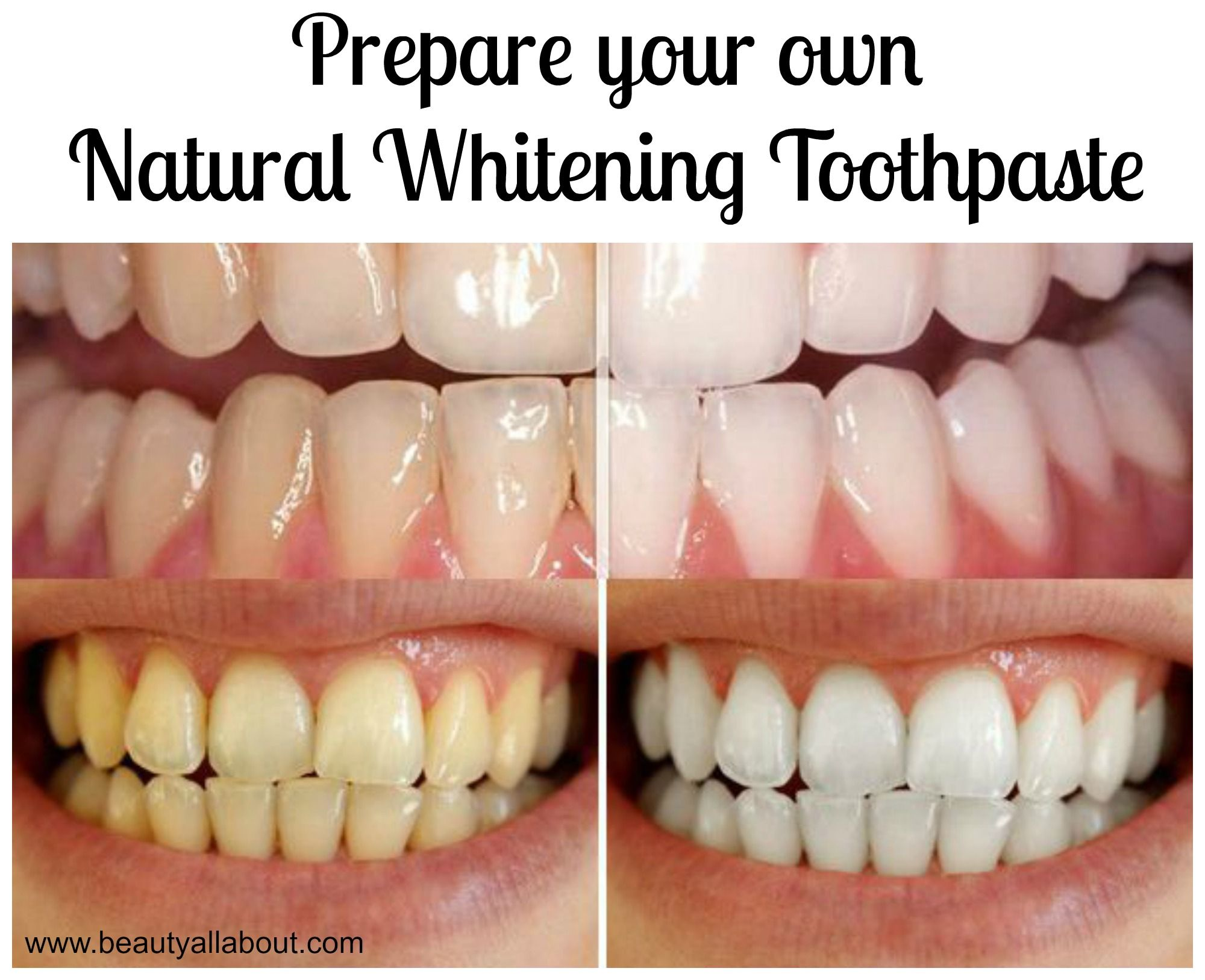 Diy natural whitening toothpasteg teeth whitening homemade