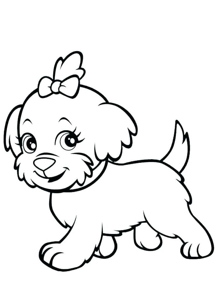 Puppy Coloring Books 5f9r Puppy Coloring Book Cartoon Puppy