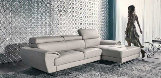 Our leather lounge! (FRANCIS nick scali) but in grey. | living ...