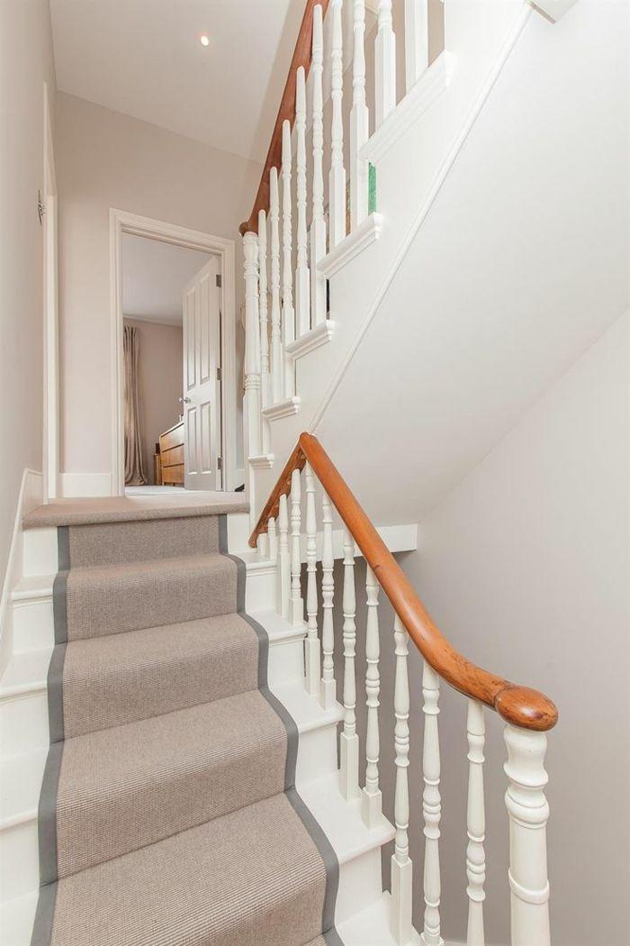 Le tapis pour escalier en 52 photos inspirantes! Salons and House