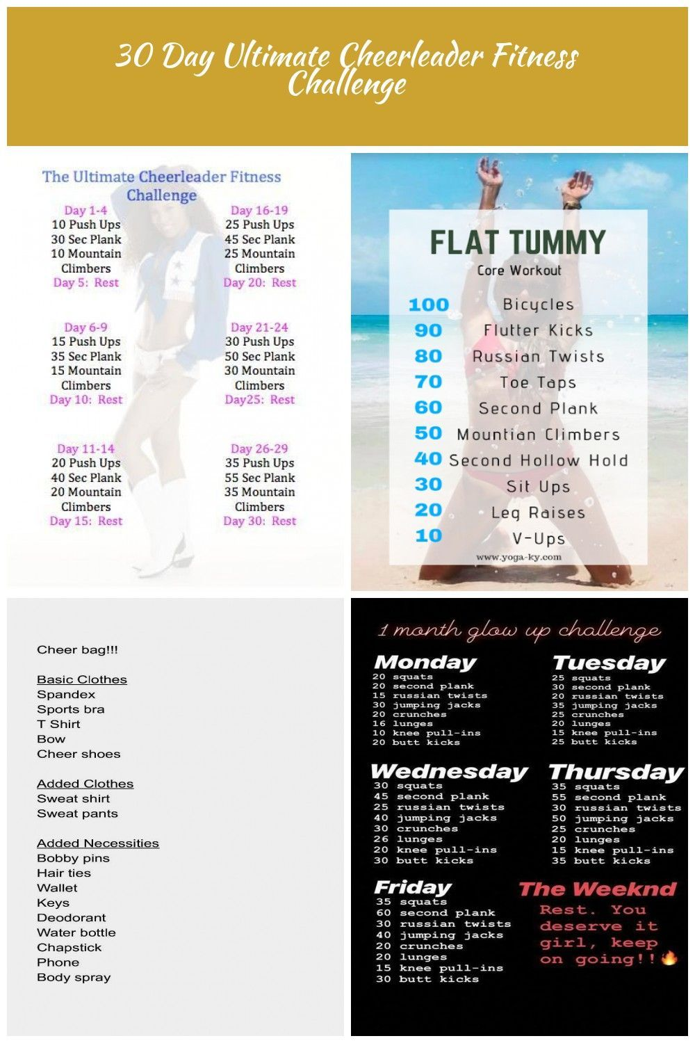 30 day cheer challenge cheer Workouts 30 Day Ultimate Cheerleader Fitness Challenge #cheerworkouts 30 day cheer challenge cheer Workouts 30 Day Ultimate Cheerleader Fitness Challenge #cheerworkouts