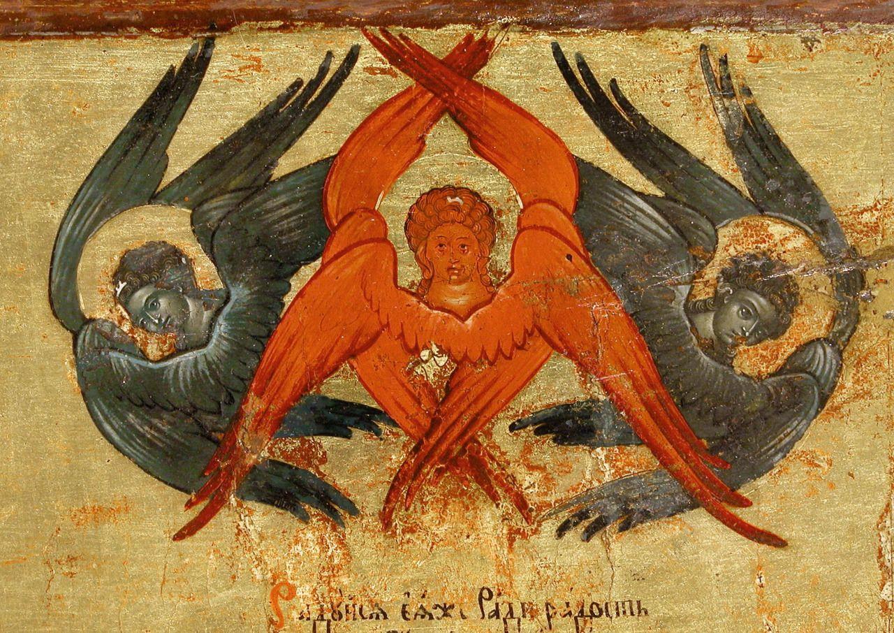 отметить, что фото ангелов архангелов серафимов херувимов октября