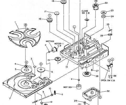 Necesito sincronismo de mecanismo AIWA modelo Z-650