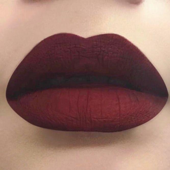 36 Best Maroon Matte Lipstick Shades To Look Stunningly -5508