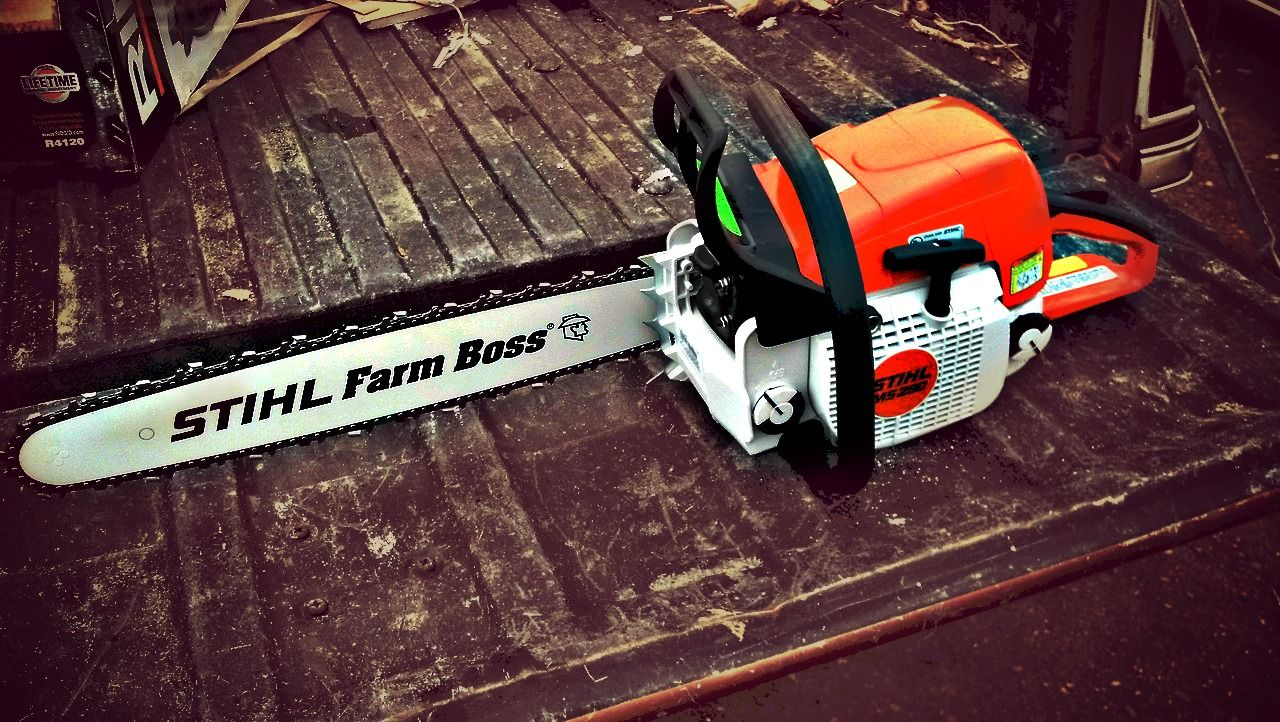 Stihl chainsaw getting put to work farm life pinterest stihl stihl chainsaw getting put to work greentooth