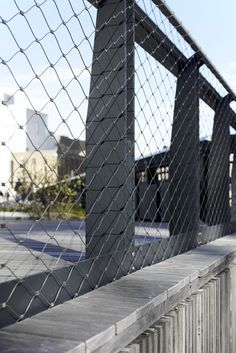 arhcitectural wire mesh guardrail exterior google search rh pinterest com