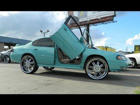 Impala On 26s Paint Job Amp Lambo Doors Youtube