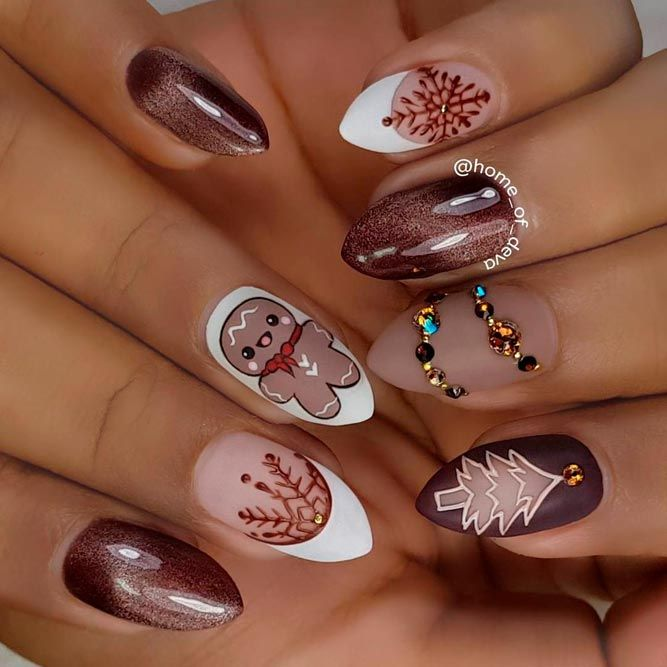 48 Popular Ideas Of Christmas Nails Designs To Try In 2018 Nail