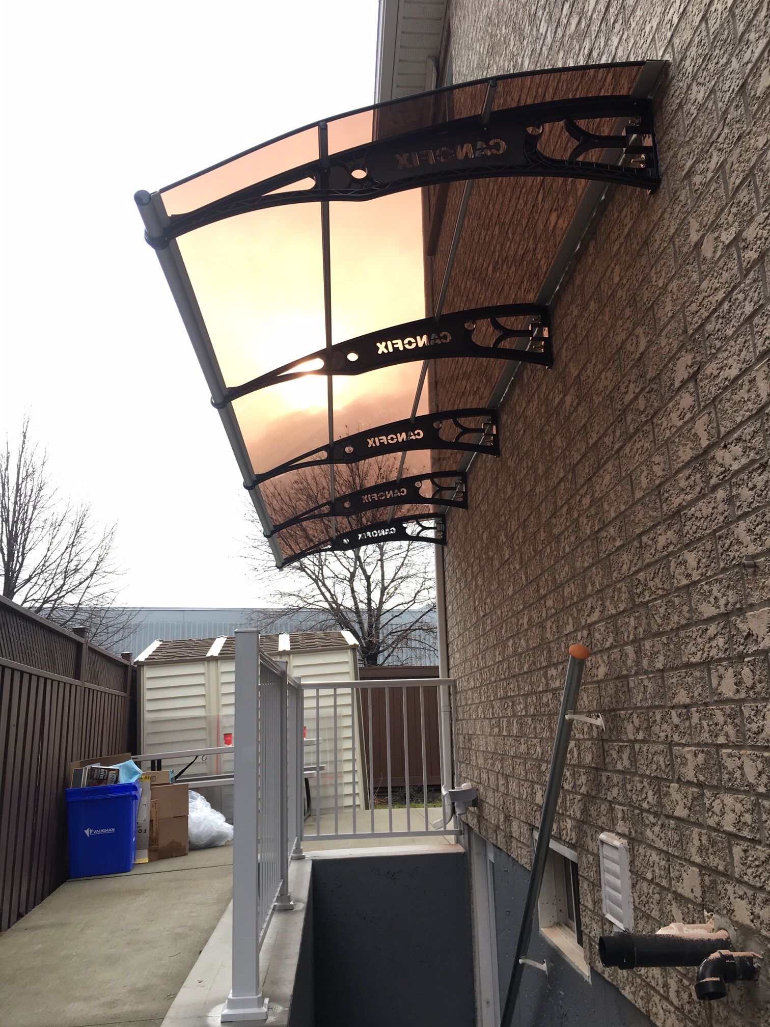 Single Panel Awning System With Images Awning Paneling